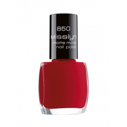Misslyn Nail Polish No.855 My Matte Red