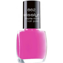 Misslyn Nail Polish No. 862 My Matte Pink