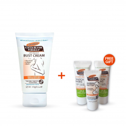 Palmer's Bust Cream Offer (Palmer's Cocoa Butter Formula Bust Firming Cream Tube + Free Gift )