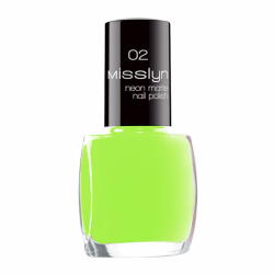 Misslyn Neon Matte Nail Polish No. 02 Illuminating Power