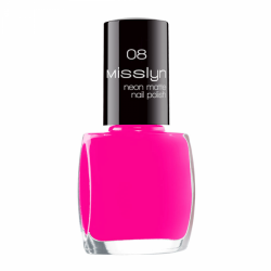 Misslyn Neon Matte Nail Polish No. 08 Fluorescent Paint
