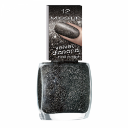 Misslyn Velvet Diamond Nail Polish No. 12 Universe