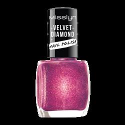 Misslyn Velvet Diamond Nail Polish No. 28 Meteor Shower