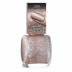 Misslyn Velvet Diamond Nail Polish No. 36 Champagne