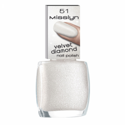 Misslyn Velvet Diamond Nail Polish No. 51 Rock Candy