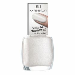 Misslyn Velvet Diamond Nail Polish No. 51 Rock Candy
