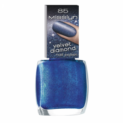 Misslyn Velvet Diamond Nail Polish No. 85 Royal Blue