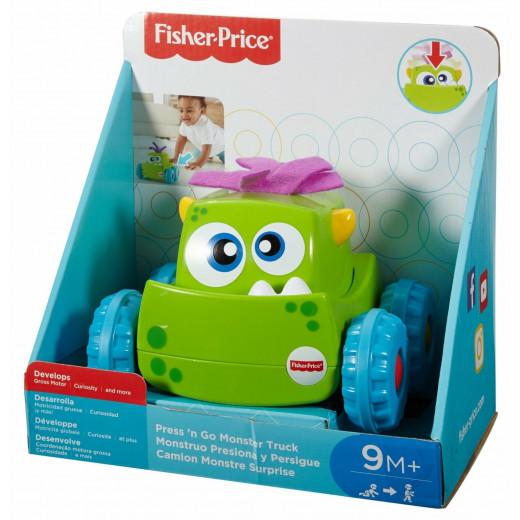 Fisher-Price Press 'n Go Monster Truck - Green
