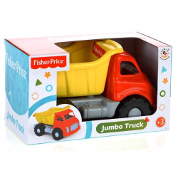 Fisher-Price Jumbo Truck -red and yellow