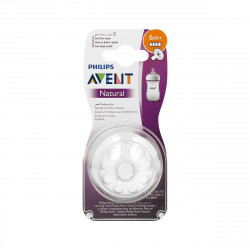 Avent Teat Natural Fast Flow 6m