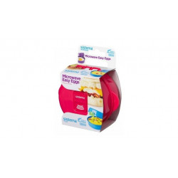 Sistema To Go Microwave Egg Cooker Easy Eggs, 270 ml - Pink