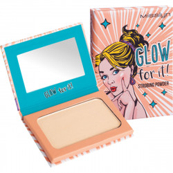 Misslyn Glow for it! Strobing powder, compact powder.4