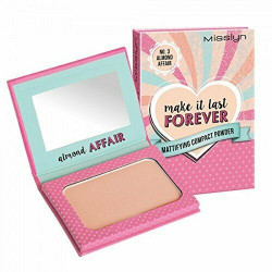Misslyn Make It Last Forever Mattifying Compact Powder Almond Affair NO.3 6g