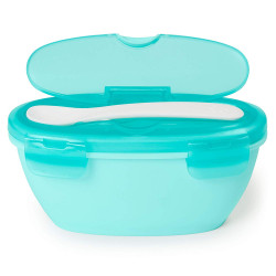Skip Hop Easy Travel Bowl - Teal