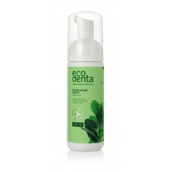 ECODENTA Refreshing Foam Mouth Rinse with Mint Oil and Natural Betaine, 150 ml