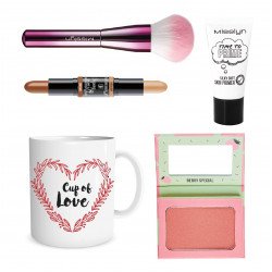 Misslyn Valentine Gift, Package Number 5 of Makeup with Beautiful Mug