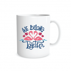 Dumyah We Belong Together Mug