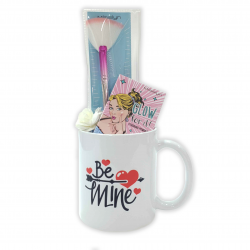 Misslyn Valentine Gift, Package Number 6 of Makeup with Beautiful Mug