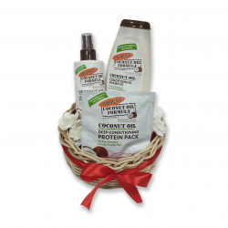 Palmer's Valentine Gift Basket 3 - Hair Care Coconut
