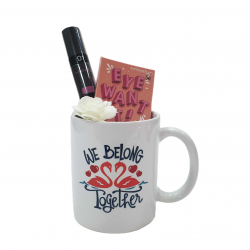 Misslyn Valentine Gift, Package Number 7 of Makeup with Beautiful Mug