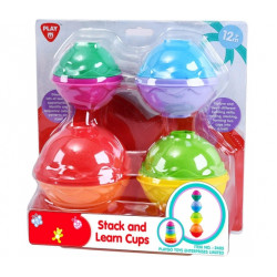 PlayGo Stack & Learn Cups