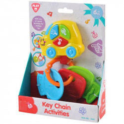 PlayGo Key Chain  Activities B/O (3 Basic Keys)