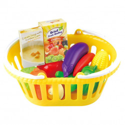 PlayGo Veggie Basket, 13 pcs