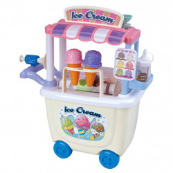 PlayGo Dough Ice Cream Cart (6 x 1 OZ Dough Included )