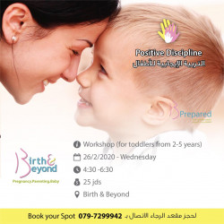 Positive Discipline For Toddlers from 2 - 5 Years, By Birth-&-Beyond