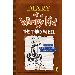 Diary of a Wimpy Kid : The Third Wheel, Paperback | 240 pages
