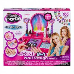 Cra-Z-Art 8-in-1 Lite-up Designer Nail Studio