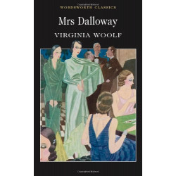 Mrs Dalloway Virginia Woolf (Wordsworth Classics) (Wordsworth Collection) Paperback,176 pages