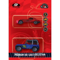 """P.JOY PREMIUM DIE-CAST  2 IN 1"""