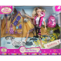 M & C Toys, Kari Michell My Holiday - Rock Climping