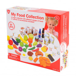 PlayGo My Food Collection, 61 pcs