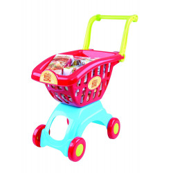 PlayGo My Little Shopping Red Cart, 18 pcs