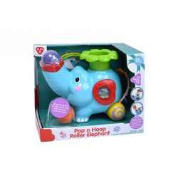 PlayGo Pop N Hoop Roller Elephant