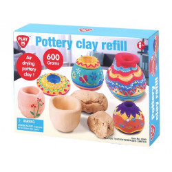 PlayGo Pottery Clay Refill, 600 g