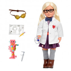Our Generation Professional Doll Amelia Scientist