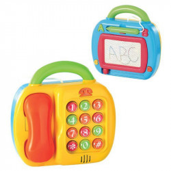 PlayGo 2-in-1 Telephone and Magic Board