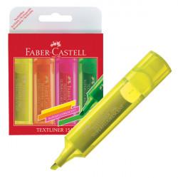 Faber-Castell Textliner Superfluorescent Set of 4