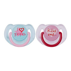 Avent Soother I Love Baba 6-18M