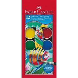 Faber-Castell Watercolour Paint Box (12 Colours)