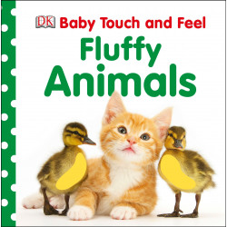 DK Baby Touch and Feel Fluffy Animals Board book