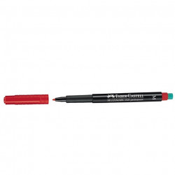Faber Castell OHP Permanent Marker M- Red