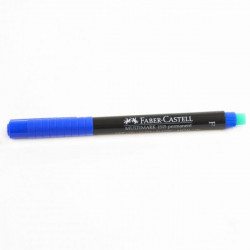 Faber- Castell OHP Marker Permanent F, Blue
