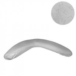 Cambrass 8 Styles - Breastfeeding / Maternity Cushion, 118 cm, Grey