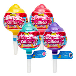 Zuru Oosh Slime Cotton Candy Cuties Small Pop with Cutie Surprise - Stretchy Foam Series 2 Random Packaging