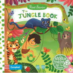 The Jungle Book (First Stories) Board book, 10 pages