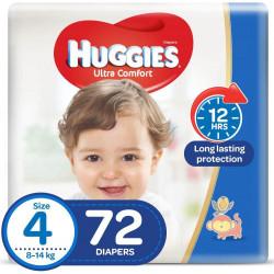 Huggies Mega Diapers Size (4) 72X1
